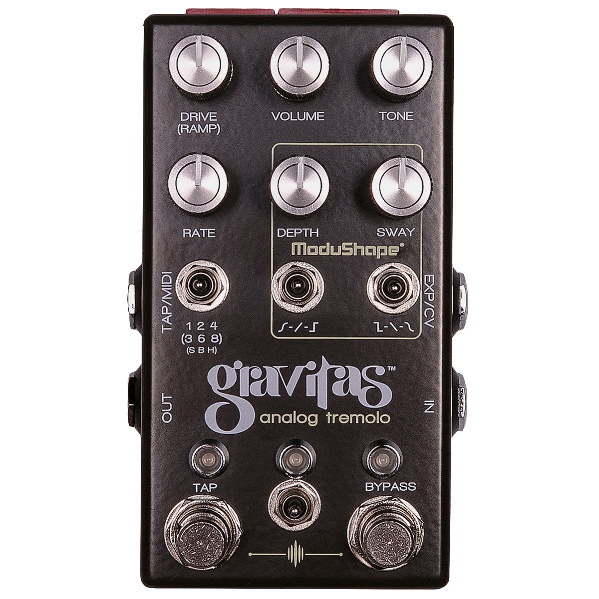 Chase Bliss Audio Gravitas Analog Tremolo | Lucky Fret Music Co.