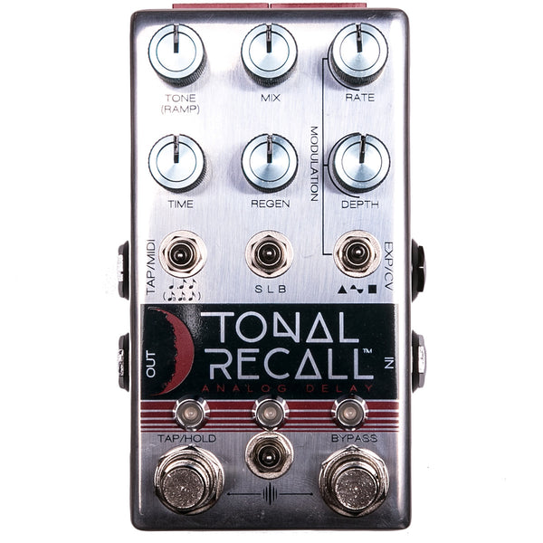 Chase Bliss Audio - Tonal Recall - Analog Delay - Vintage Guitar Boutique
