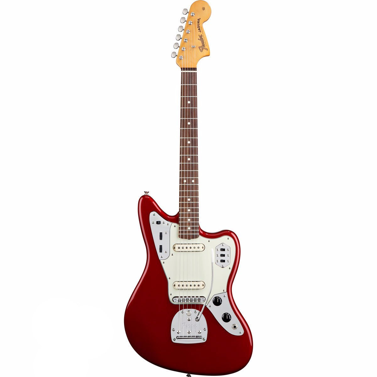 Fender Classic Player Jaguar Special - Rosewood - Candy Apple Red - Vintage Guitar Boutique - 2