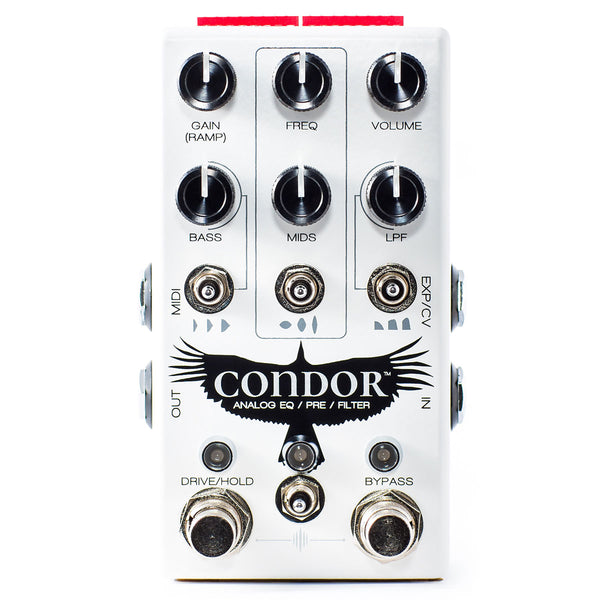 Chase Bliss Audio Condor Analog Preamp, EQ & Filter | Lucky Fret Music Co.