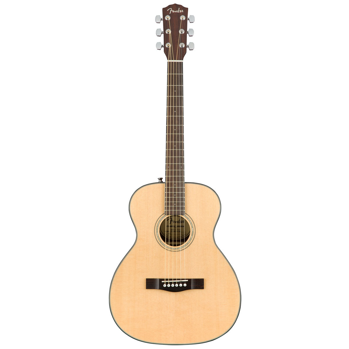 Fender CT-140SE Natural, with Case | Lucky Fret Music Co.