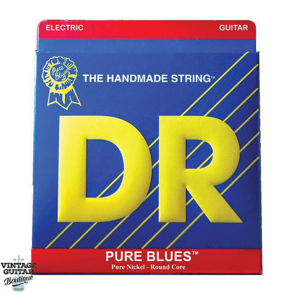 D.R. Pure Blues Electric Strings 9-42 - PHR9 - Vintage Guitar Boutique