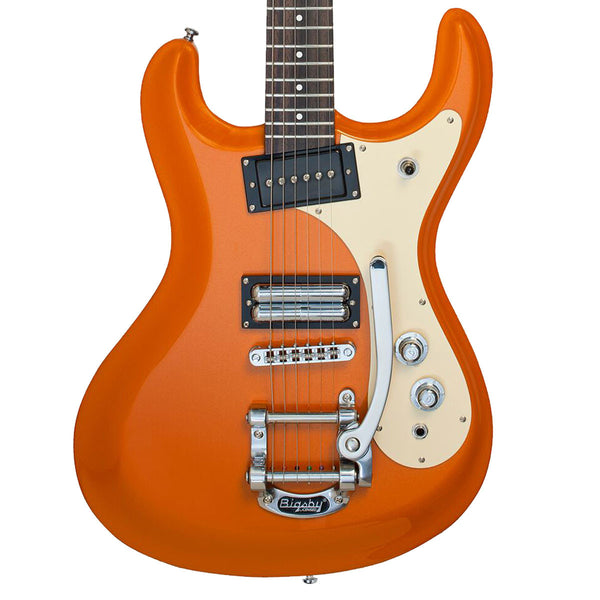 Danelectro DG64 Model 64 Metallic Orange - SALE PRICE | Lucky Fret Music Co.