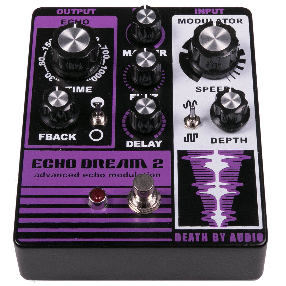 Death by Audio Echo Dream 2 Delay Fuzz Modulation | Lucky Fret Music Co.