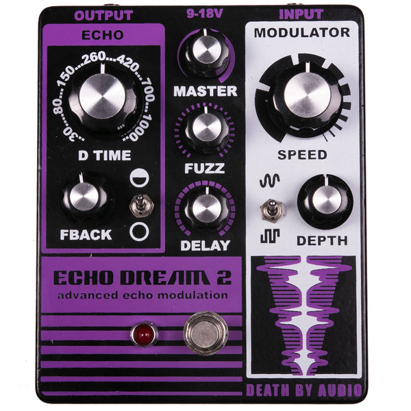 Death by Audio - Echo Dream 2 - Delay / Fuzz / Modulation