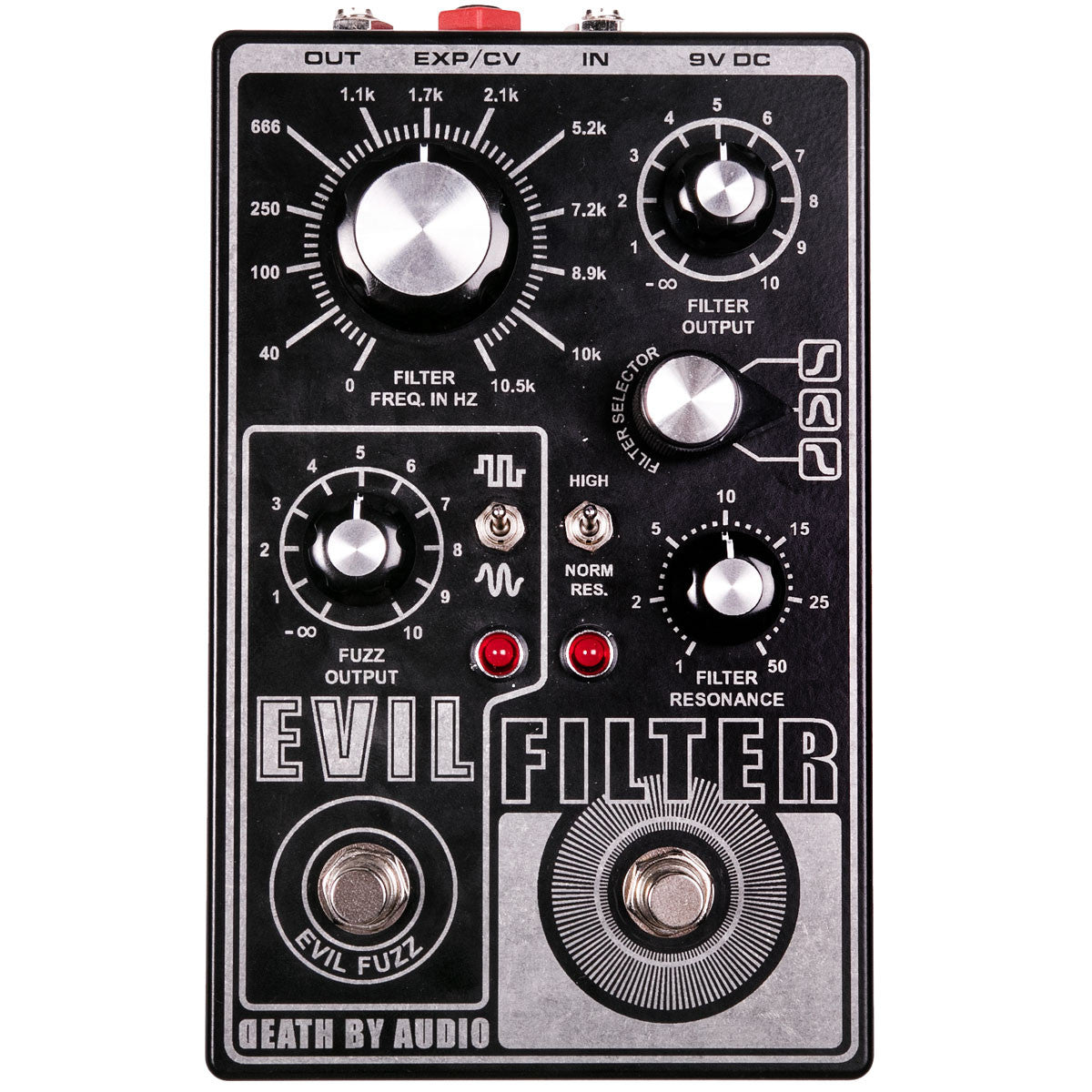 Death By Audio Evil Filter | Lucky Fret Music Co.