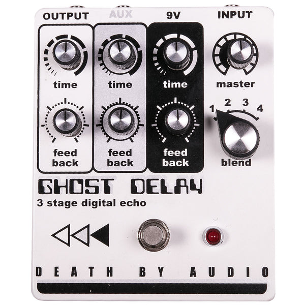 Death By Audio Ghost Delay | Lucky Fret Music Co.
