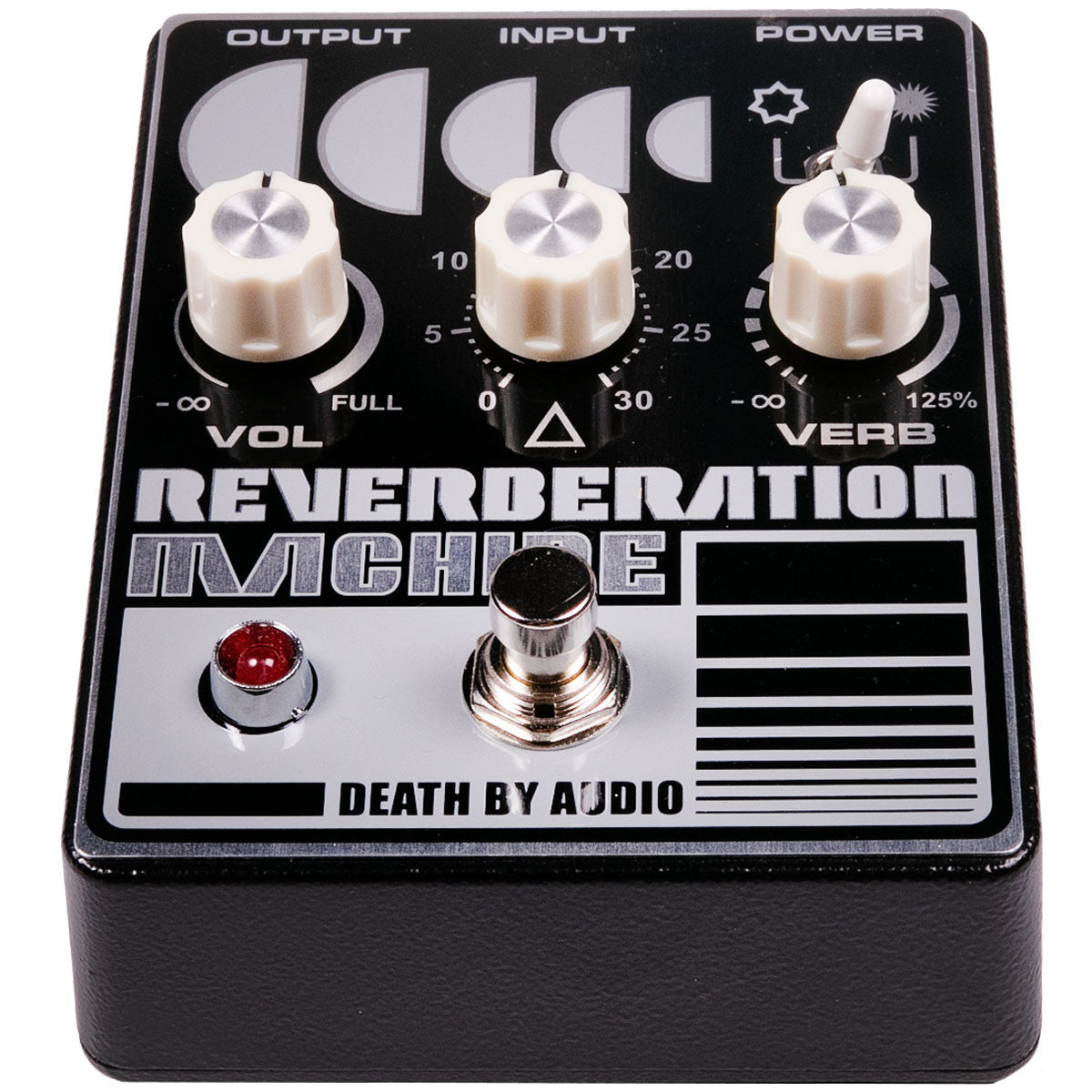 Death By Audio Reverberation Machine Reverb | Lucky Fret Music Co.