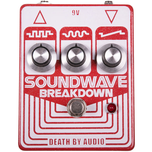 Death By Audio Soundwave Breakdown Fuzz | Lucky Fret Music Co.