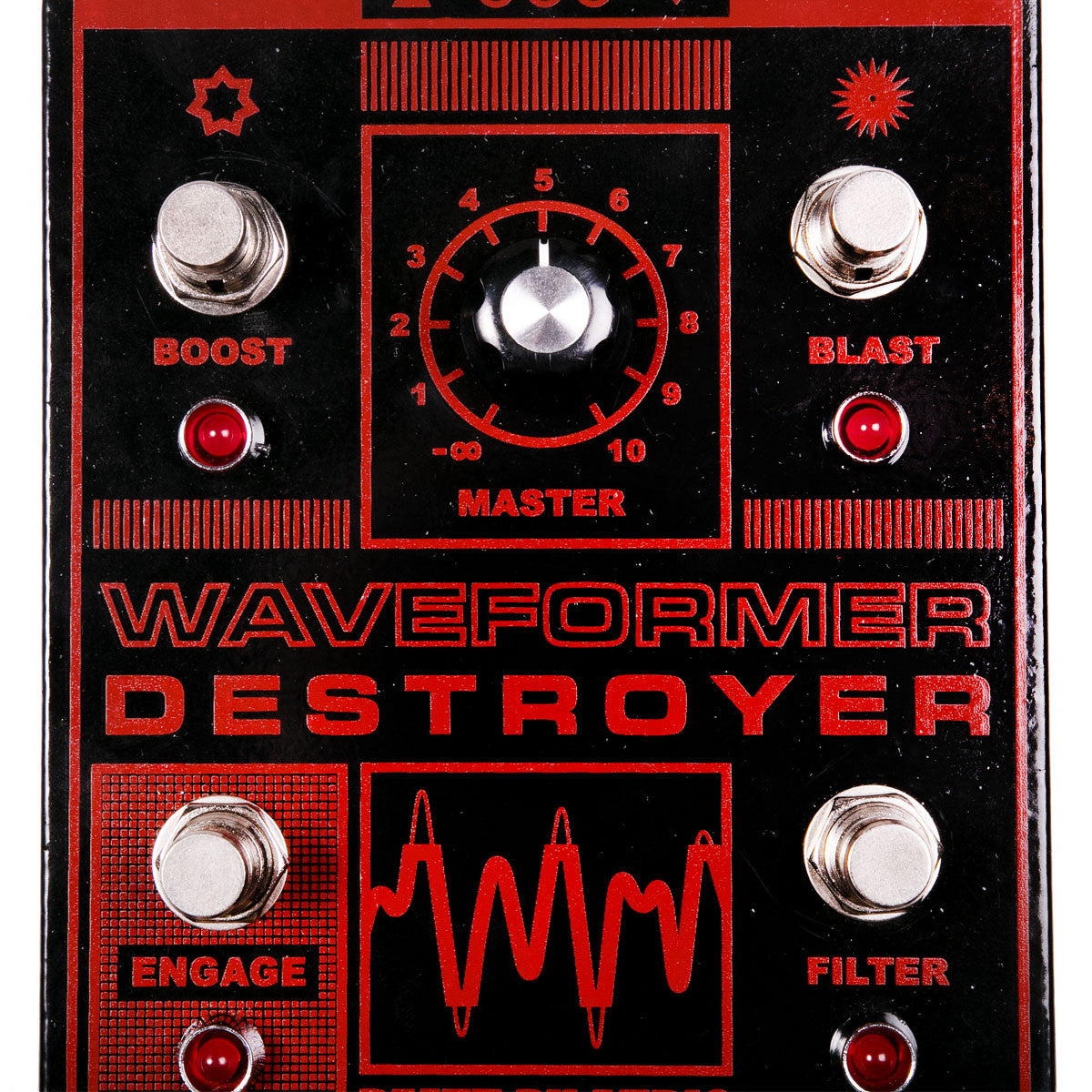 Death By Audio Waveform Destroyer Fuzz