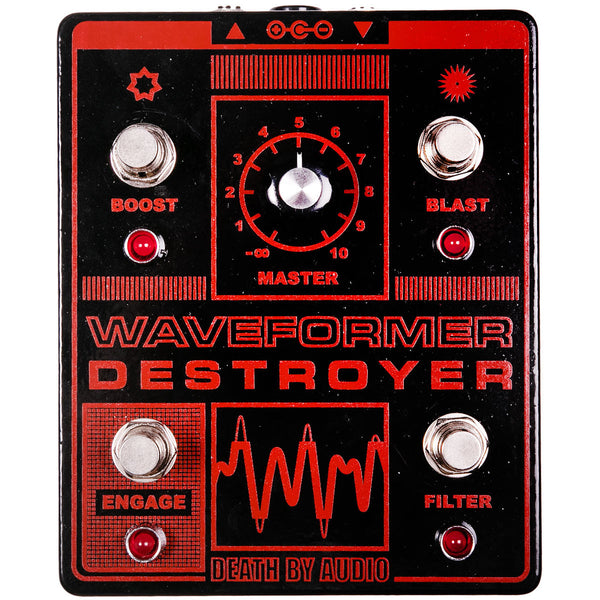 Death By Audio Waveform Destroyer Fuzz | Lucky Fret Music Co.