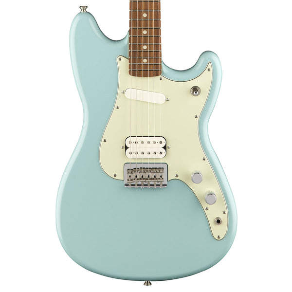 Fender Duo-Sonic HS, Pau Ferro Fingerboard, Daphne Blue | Lucky Fret Music Co.