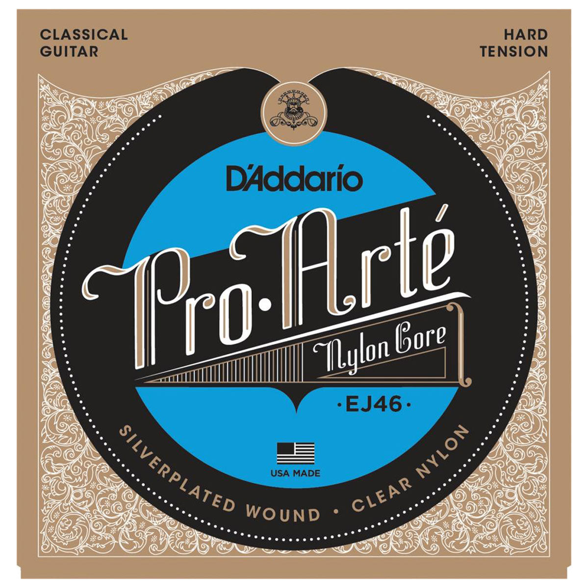 D'Addario - EJ46 Pro Arte - Hard Tension