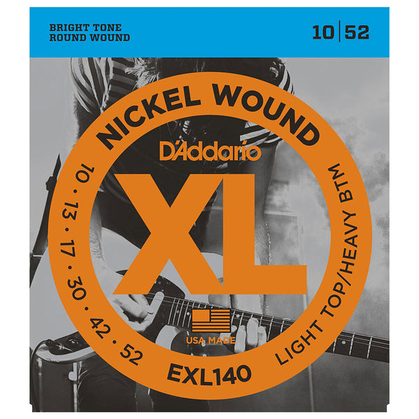 D'Addario - EXL140 Nickel Skinny Top Heavy Bottom