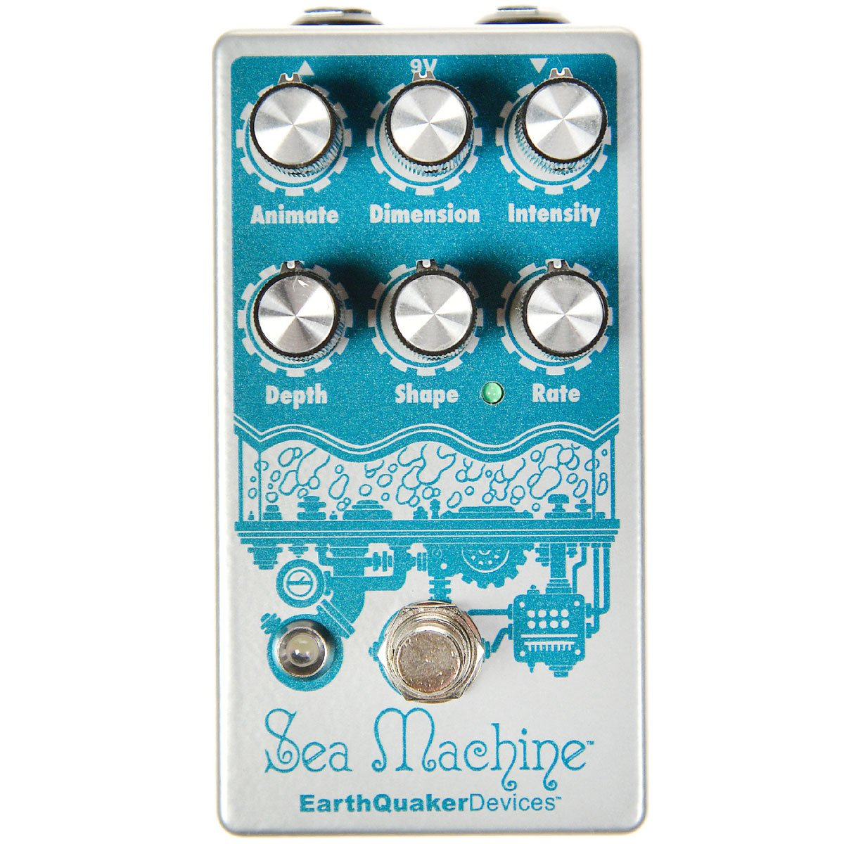 Earthquaker Devices Sea Machine V2 Chorus | Lucky Fret Music Co.