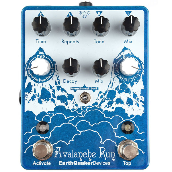 USED Earthquaker Devices - Avalanche Run -WITH BOX