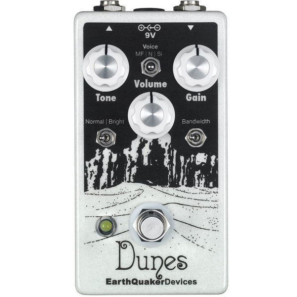Earthquaker Devices Dunes V2 Overdrive | Lucky Fret Music Co.
