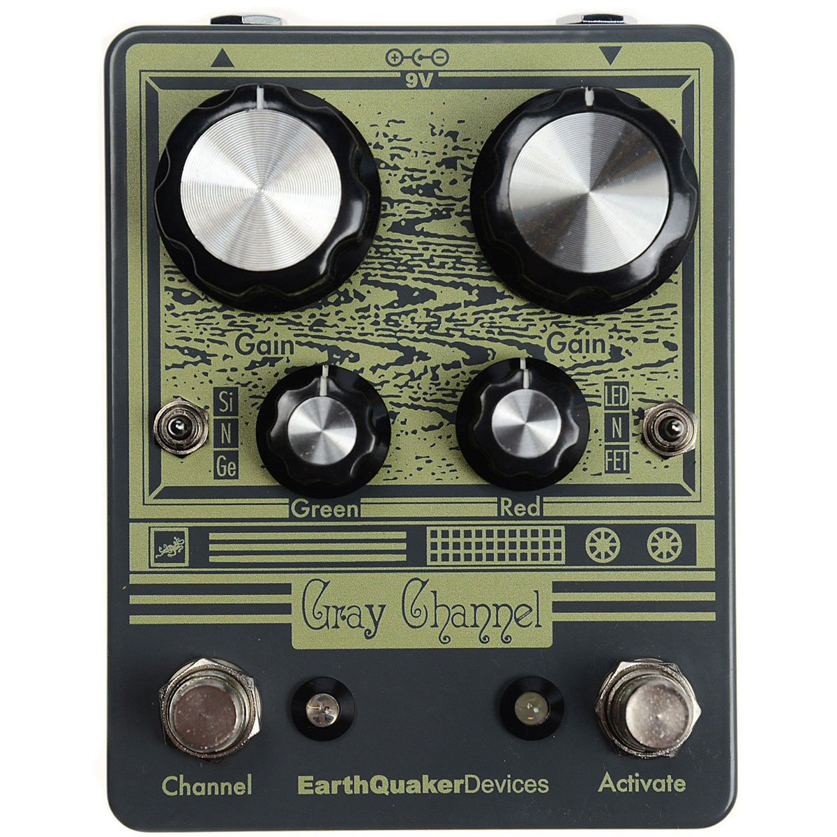Earthquaker Devices Gray Channel Overdrive | Lucky Fret Music Co.