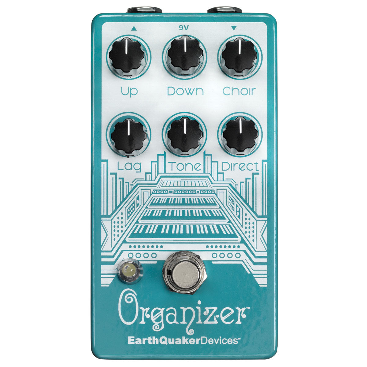 Earthquaker Devices Organizer V2 Polyphonic Organ Emulator | Lucky Fret Music Co.