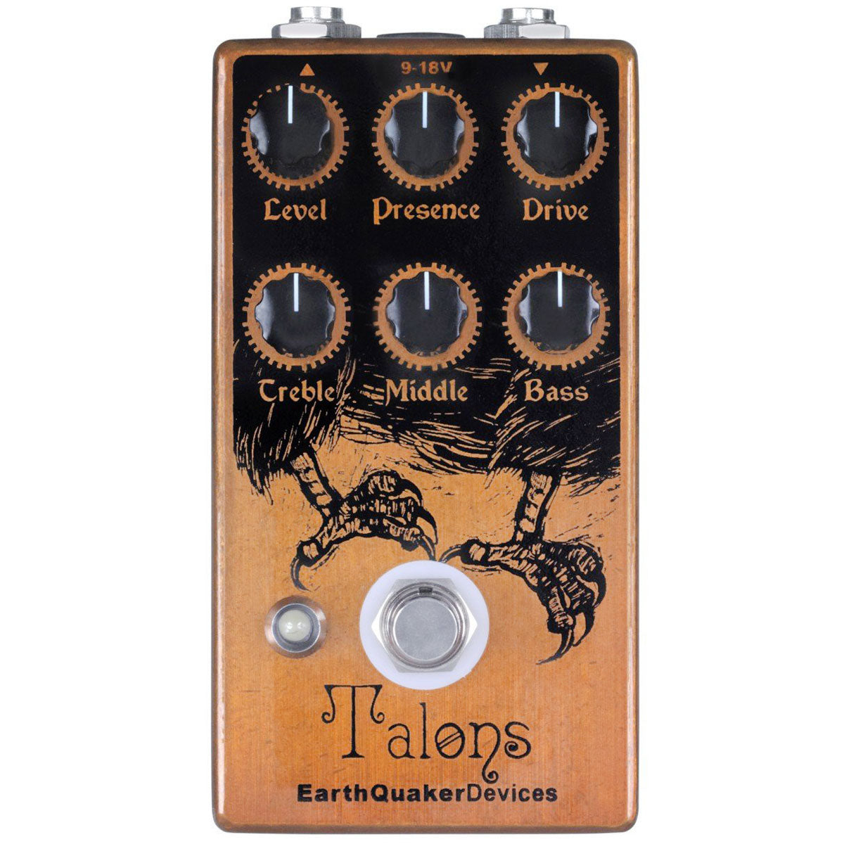 Earthquaker Devices Talons Distortion | Lucky Fret Music Co.