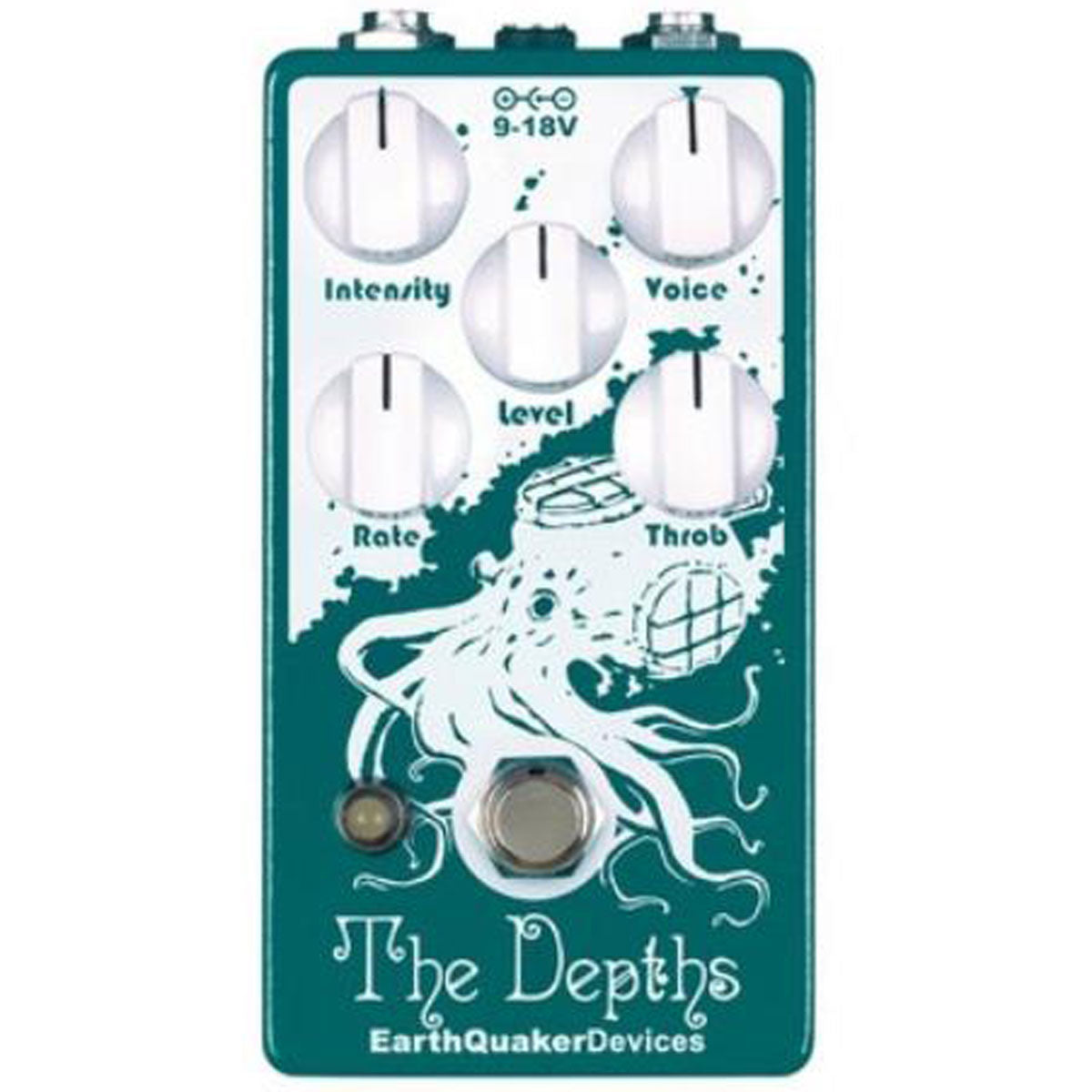 Earthquaker Devices Depths V2 Univibe | Lucky Fret Music Co.
