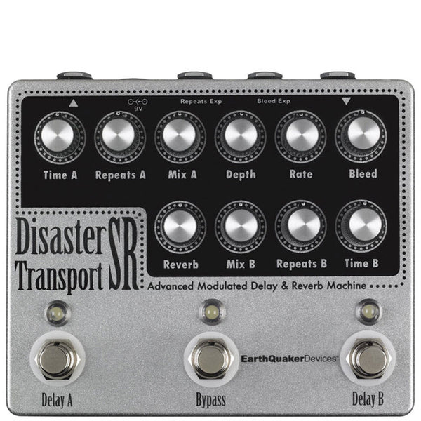 Earthquaker Devices Disaster Transport Sr Delay & Reverb | Lucky Fret Music Co.