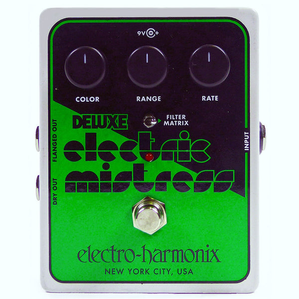 Electro Harmonix - Deluxe Electric Mistress XO - Analog Flanger (PSU Included) | Lucky Fret Music Co.