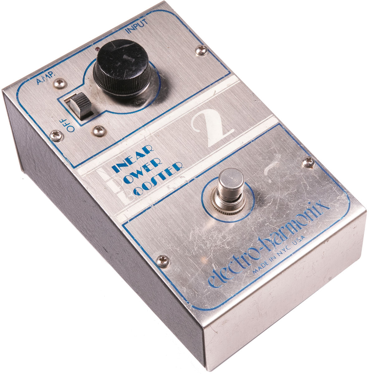 1970s Electro Harmonix Linear Power Boost LPB-2 | Lucky Fret Music Co.