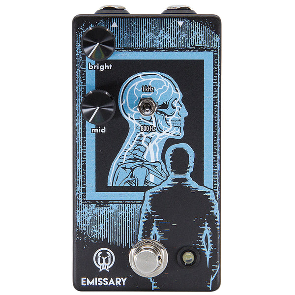 Walrus Audio - Emissary Parallel Boost Pedal | Lucky Fret Music Co.