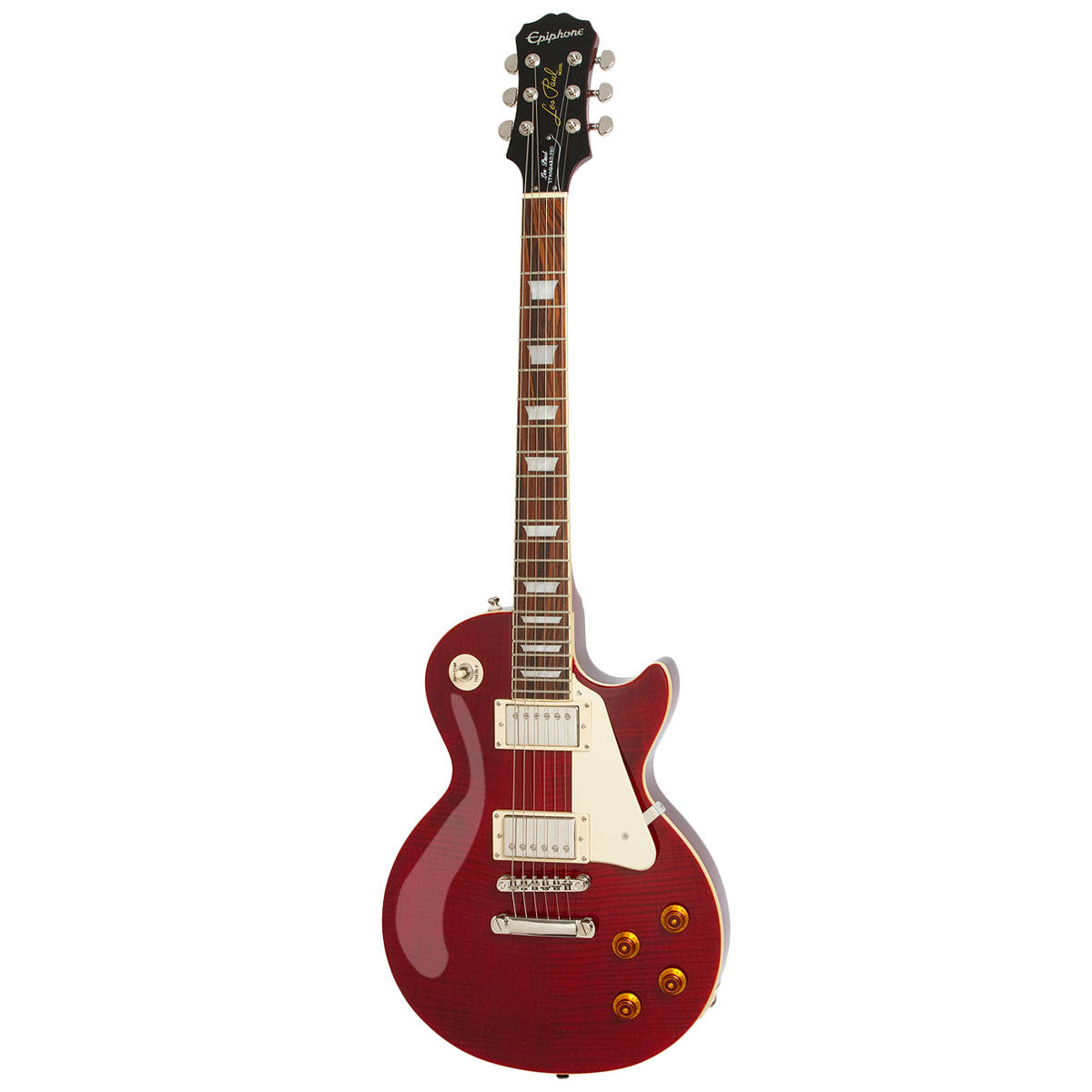 Epiphone Les Paul STANDARD PLUS-TOP PRO (Probuckers & Coil-Tap) - Wine Red