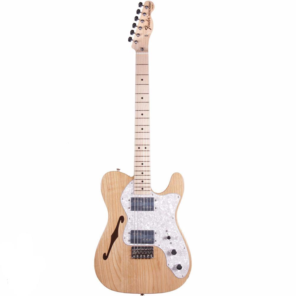 Fender Classic Series '72 Telecaster Thinline - Maple - Natural - Vintage Guitar Boutique - 2