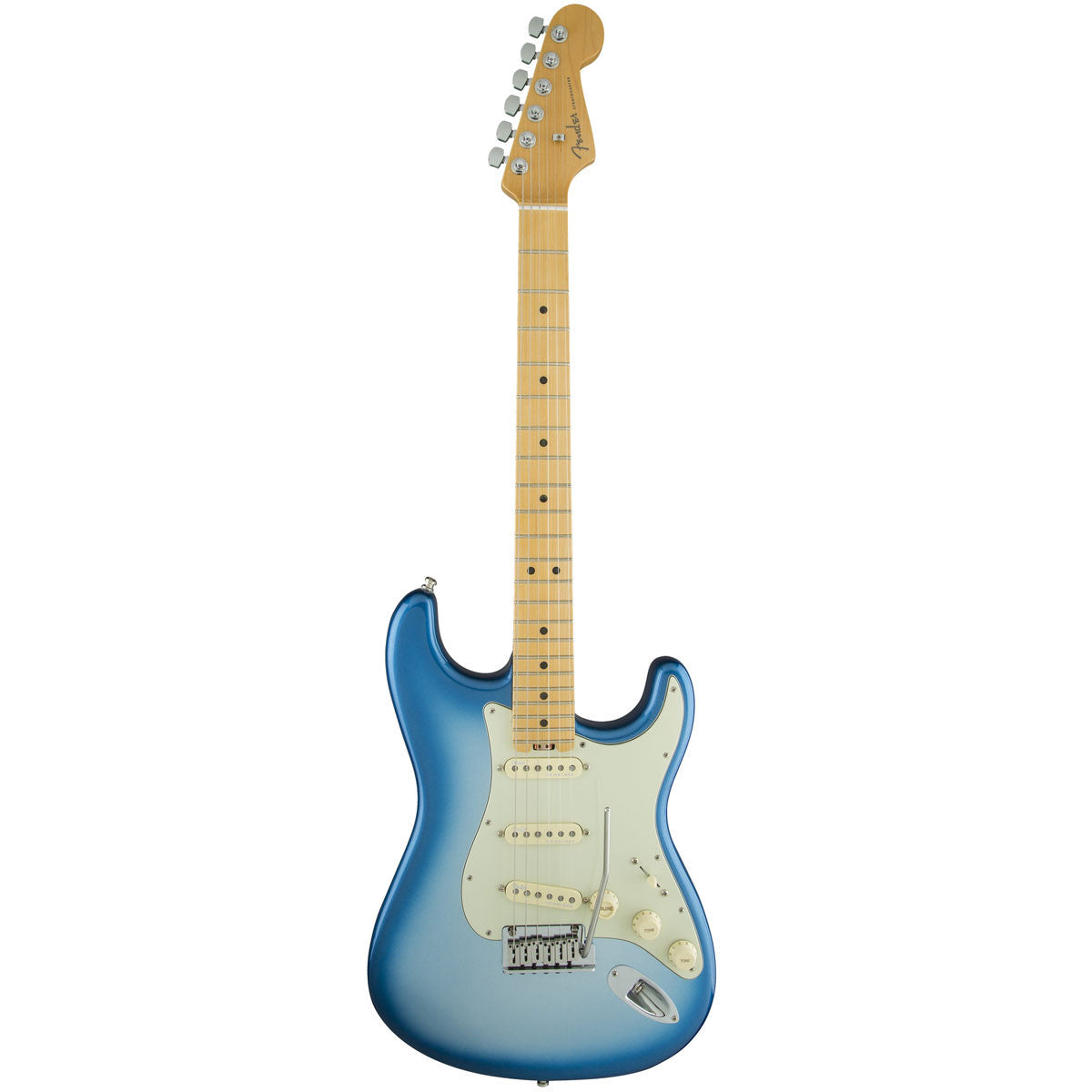 Fender American Elite Stratocaster, Maple, Sky Burst Metallic | Lucky Fret Music Co.