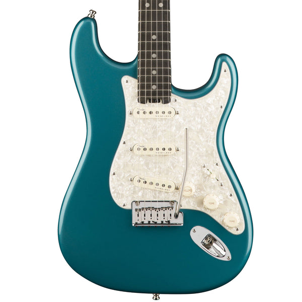 Fender American Elite Stratocaster, Ocean Turquoise, Ebony Fingerboard - SALE PRICE