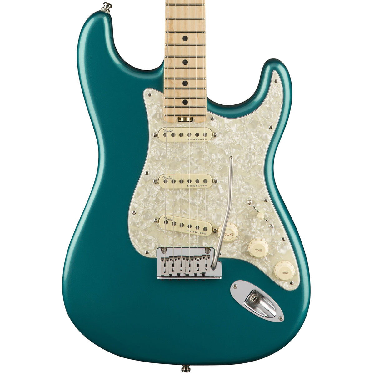 Fender American Elite Stratocaster, Ocean Turquoise, Maple | Lucky Fret Music Co.