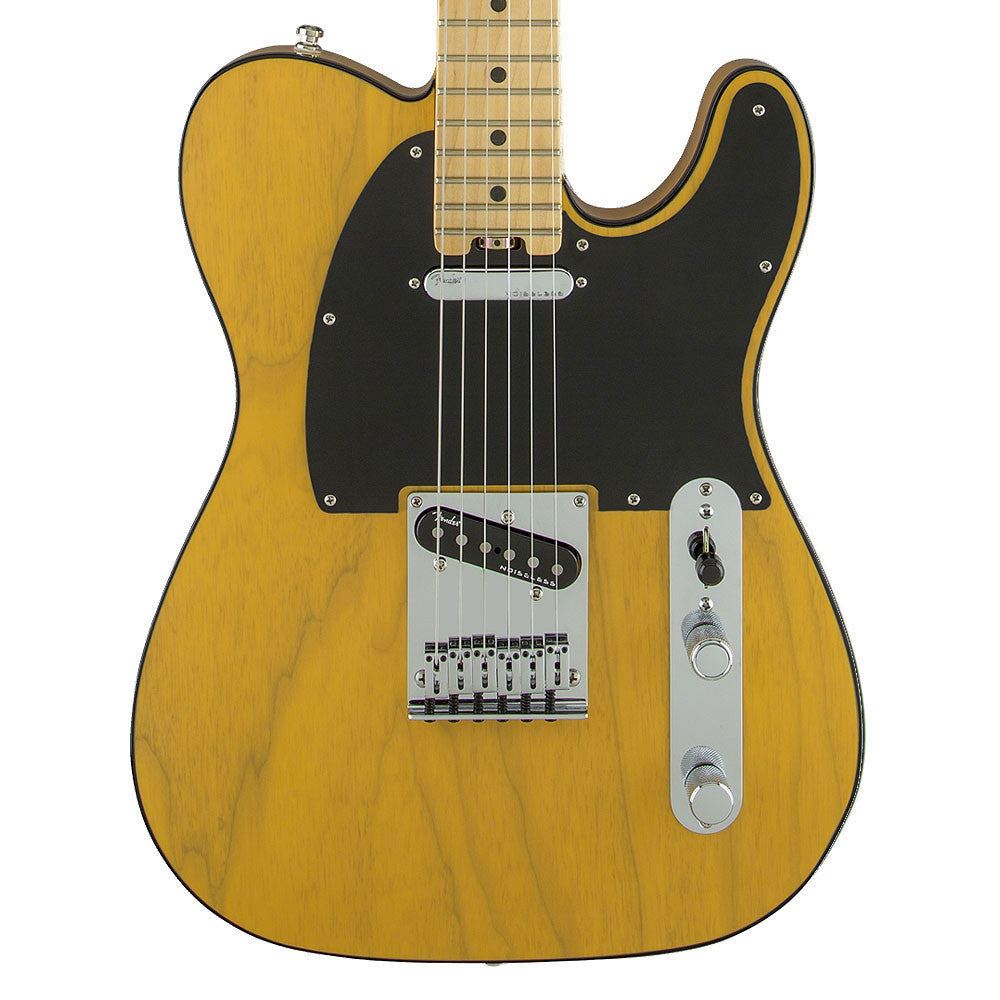Fender American Elite Telecaster, Maple, Butterscotch Blonde (Ash) - Vintage Guitar Boutique - 1