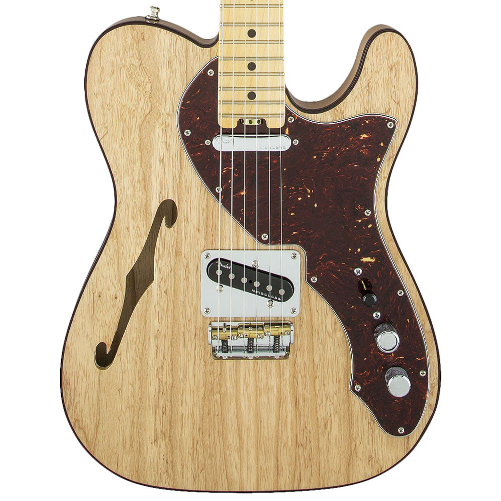 Fender American Elite Telecaster Thinline, Maple, Natural - SALE PRICE | Lucky Fret Music Co.