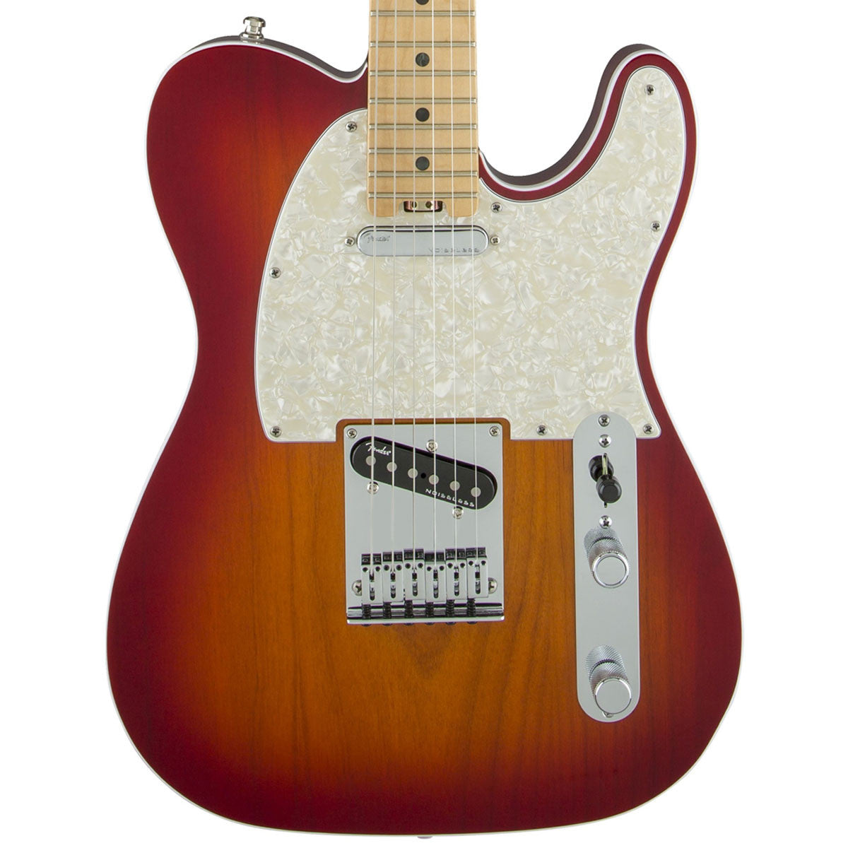 Fender American Elite Telecaster, Maple, Aged Cherry Burst - SALE PRICE | Lucky Fret Music Co.