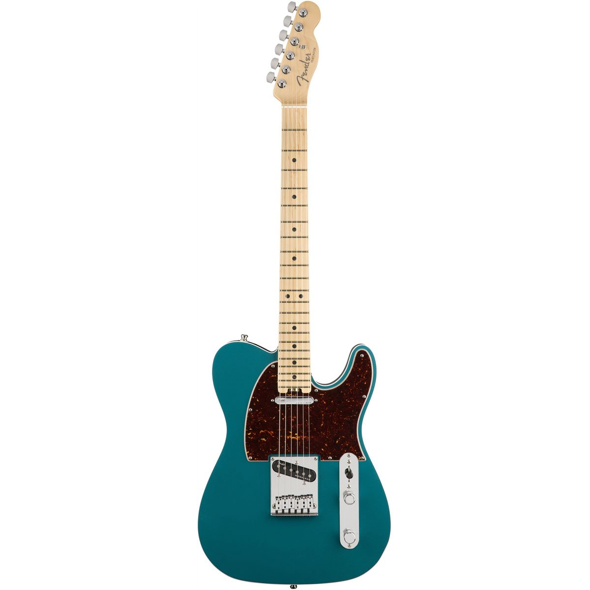 Fender American Elite Telecaster, Ocean Turquoise, Maple | Lucky Fret Music Co.