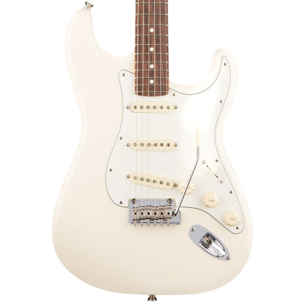 Fender American Pro Stratocaster - Rosewood - Olympic White - Vintage Guitar Boutique