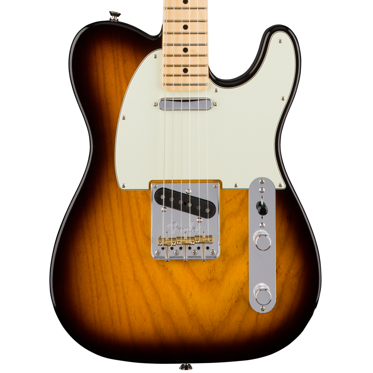 fender american pro telecaster maple 2 tone sunburst ash lucky fret music co. Black Bedroom Furniture Sets. Home Design Ideas