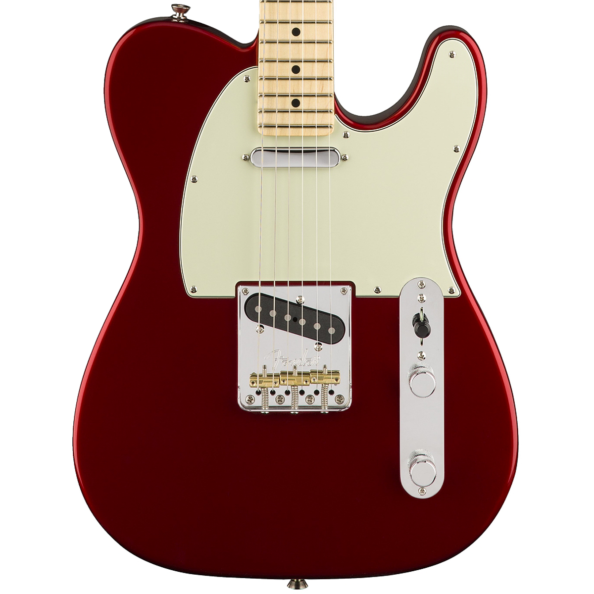 Fender American Pro Telecaster, Candy Apple Red, Maple | Lucky Fret Music Co.
