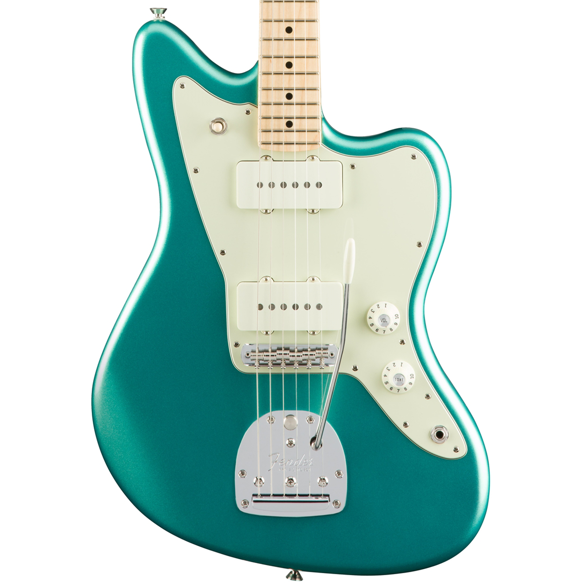 Fender American Pro Jazzmaster - Maple - Mystic Seafoam | Lucky Fret Music Co.