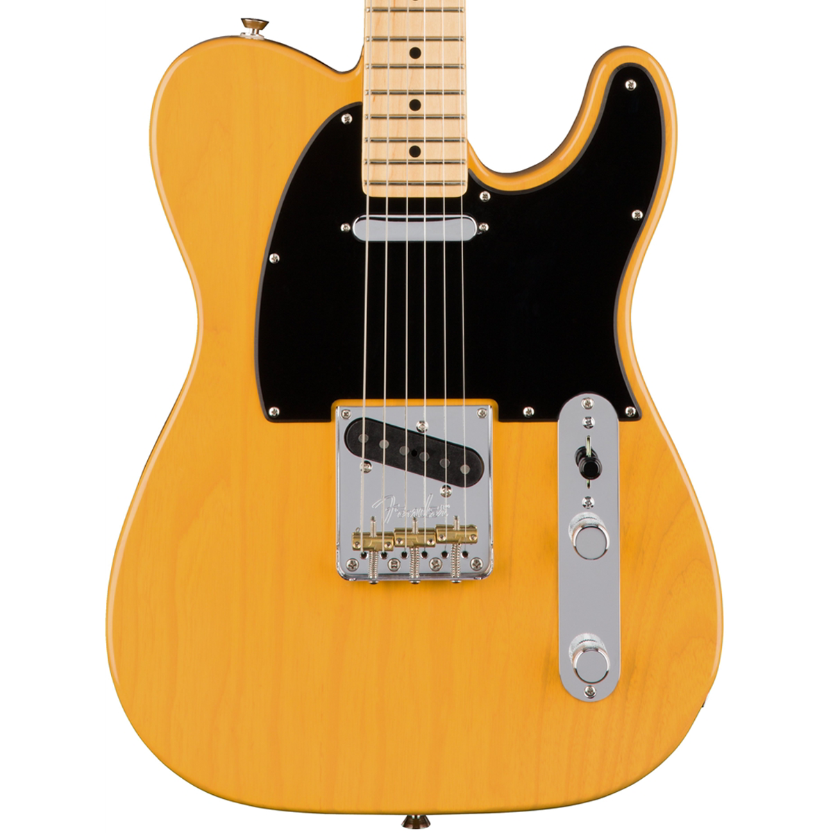 fender american pro telecaster butterscotch ash new electric guitar lucky fret music co. Black Bedroom Furniture Sets. Home Design Ideas