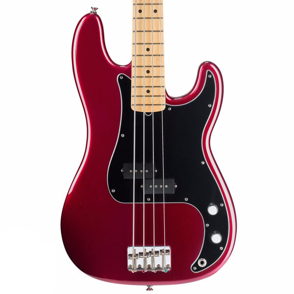 Fender American Special Precision Bass - Maple - Candy Apple Red - Vintage Guitar Boutique - 1