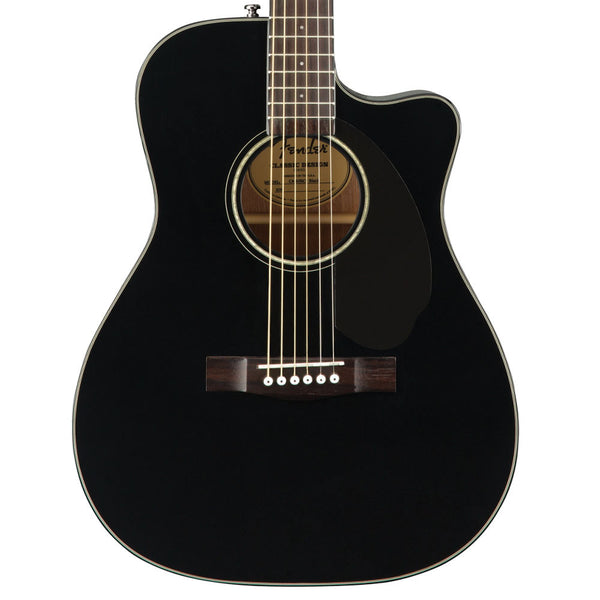 Fender CC-60SCE Black | Lucky Fret Music Co.