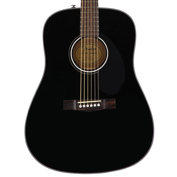 Fender CD-60S Black | Lucky Fret Music Co.