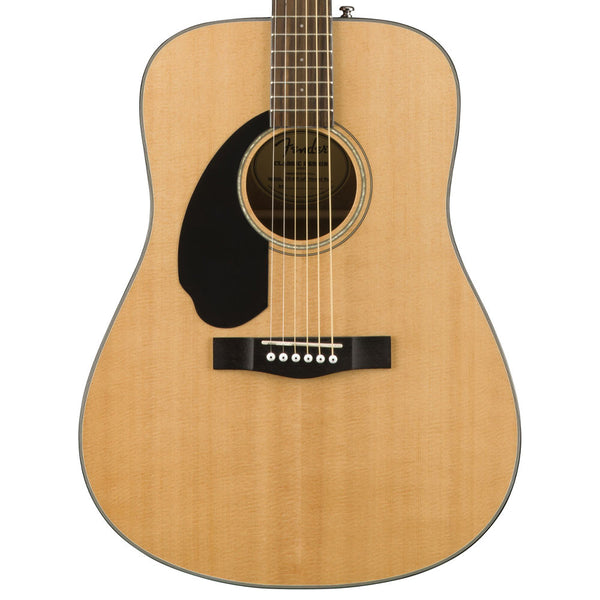 Fender CD-60S LH - Natural, Lefty | Lucky Fret Music Co.