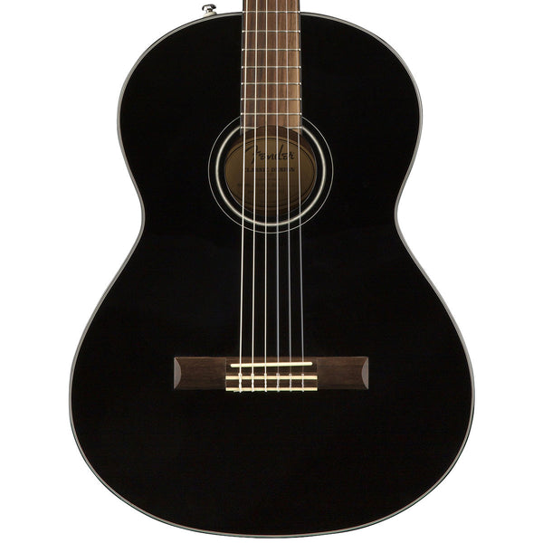 Fender CN-60S, Black | Lucky Fret Music Co.