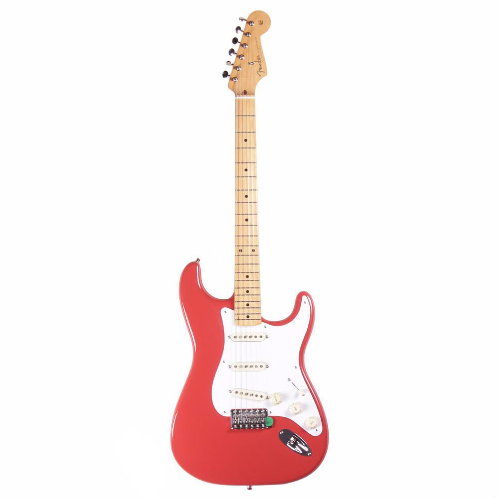 Fender Classic Series '50s Stratocaster - Maple - Fiesta Red - Vintage Guitar Boutique - 2