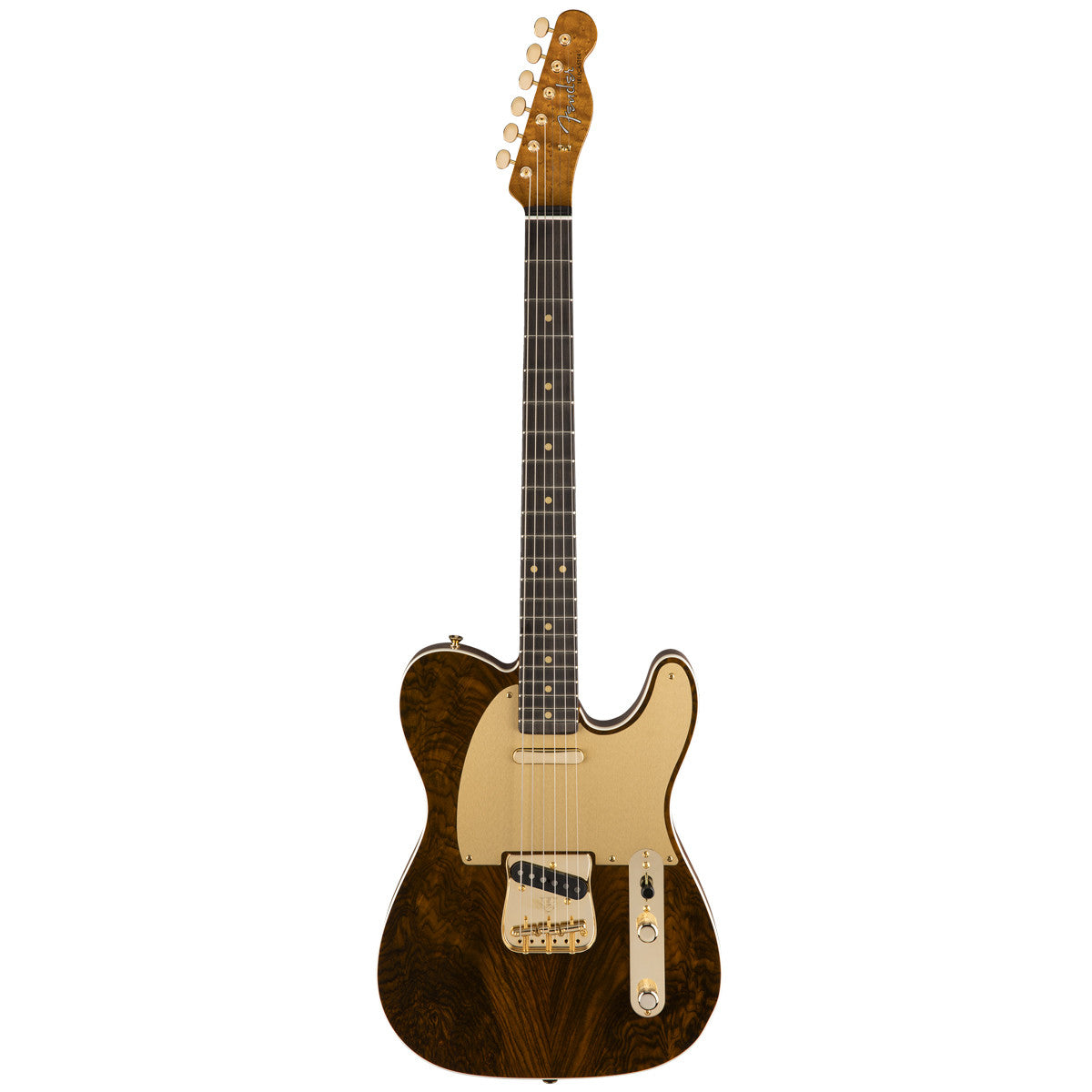 Fender Custom Shop Artisan Telecaster Roasted Fiji Mahogany Figured Rosewood Top | Lucky Fret Music Co.